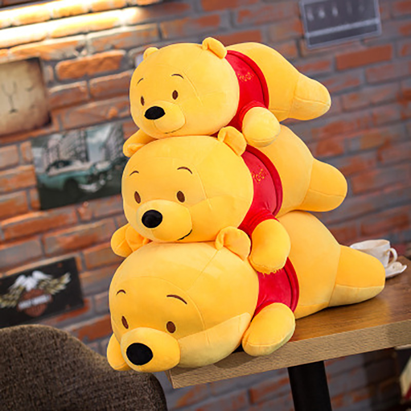 Image 5 - 45cm Cute Winnie the Pooh Plush Animal Stuffed Toy Body Pillow Cotton Doll Birthday Christmas Present Children boy Girl Toy-in Plush Pillows from Toys & Hobbies