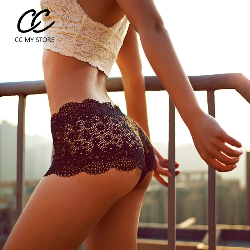 M/&S Lingerie Size 22 26 Stretch Lace Bandeau Bikini Knickers Bnwt Black