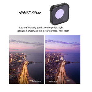Image 3 - Hero 9 action Camera Lens Filters Set UV CPL ND4/8/16/32/64 Star Night Diving pink red for GoPro Hero 9 black Filter Accessorie