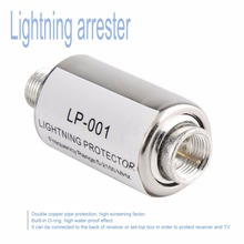 newlighting protector coaxial satellite TV lightning protect