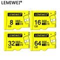 Lemiwei Барт Симпсон Высокое качество TF карта 8 Гб 16 Гб 64 Гб класс 10 водонепроницаемая карта памяти Симпсон 32 ГБ для телефона