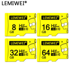 Lemiwei Tf-Card Phone Bart Simpson Class-10 64GB 16GB 8GB The Waterproof 32GB for Top-Quality