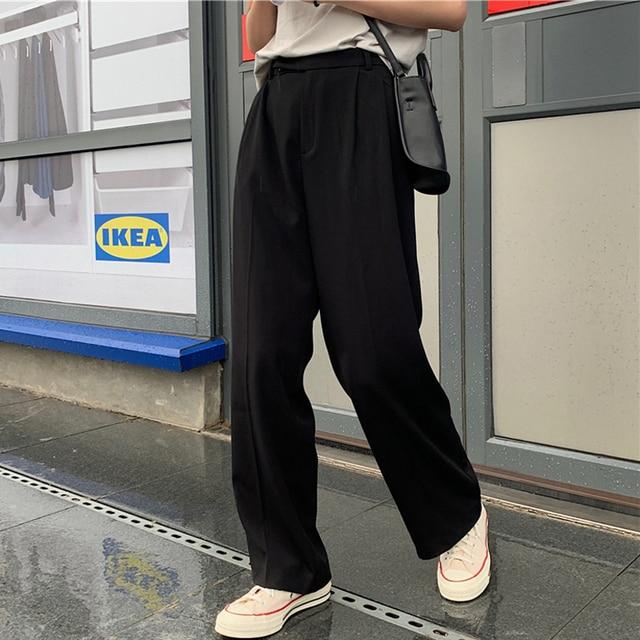 Casual Loose Women Suit Pants 5