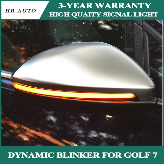 Accessori Auto per Vw Golf 7 GOLF7 MK7 7 Gt I R Dinamica Lampeggiante Led Indicatori di Direzione Semi  fumo per Touranl Luce Specchietto Laterale