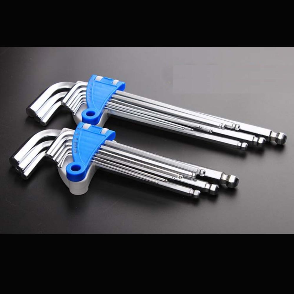 Allen Key Tools Flat Allen Keys Round Allen Keys Wrench Strong 60# Steel Good Quality Allen Tool Dish