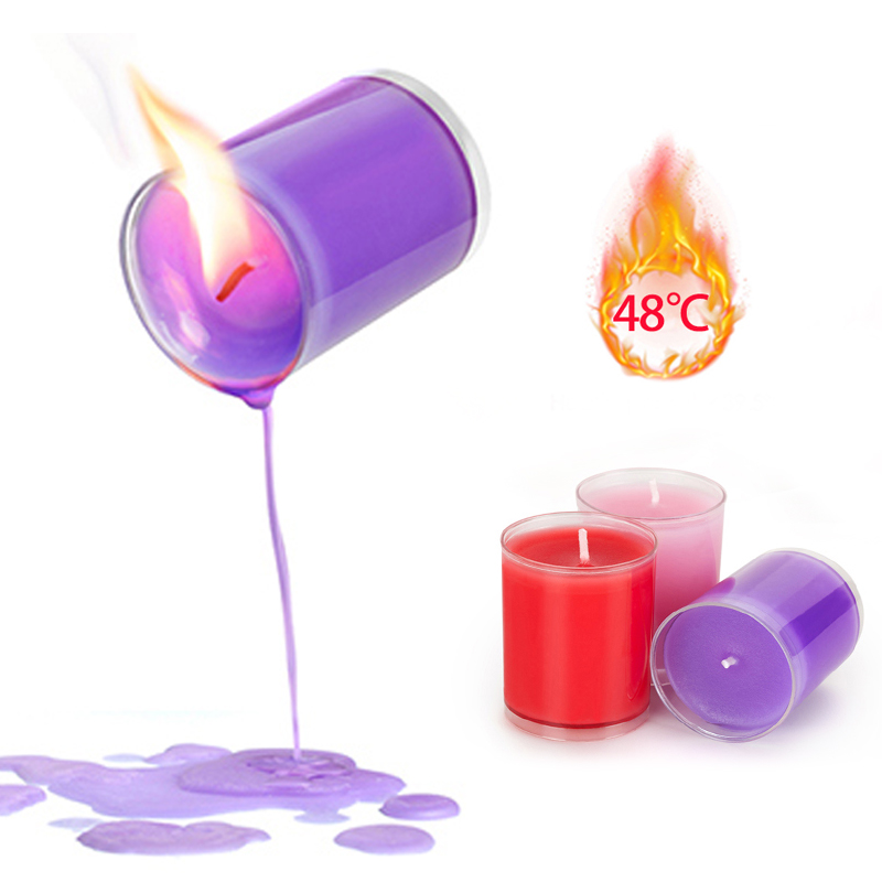 3 Colors Candles Flirting Candle Low Temperature Candle Wax Drip Erotic Adult Sex Toys For Couple SM Adult Games Flirt Toys