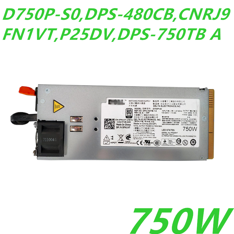 ND591 Dell Delta Electronics DPS-800JB A D800P-S0 800W Server Power Supply