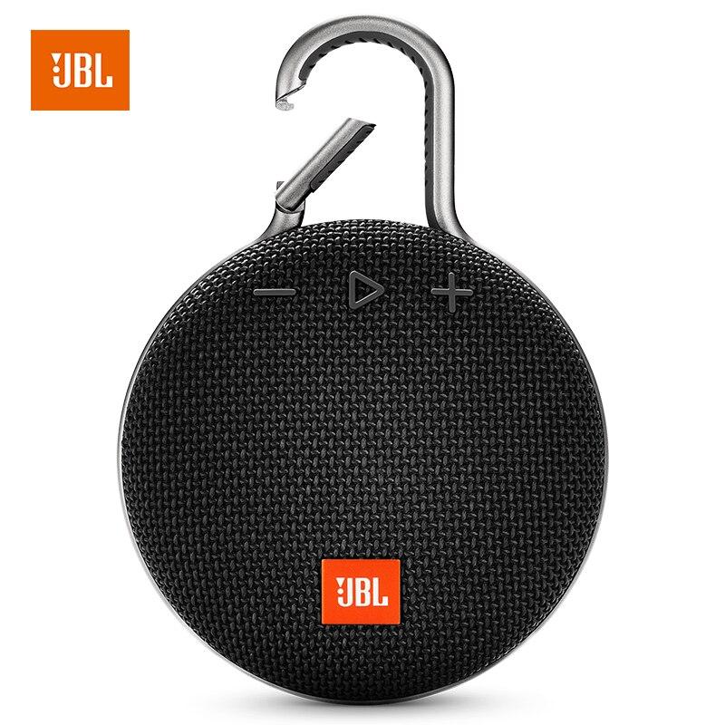 JBL קליפ 3 אלחוטי Bluetooth רמקול IPX7 עמיד למים ספורט רמקול חיצוני נייד רמקולים עם מיקרופון