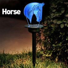 Newest Solar Garden Lights LED 3D Animal Ornament Yard Lamp Outdoor Lawn Decor