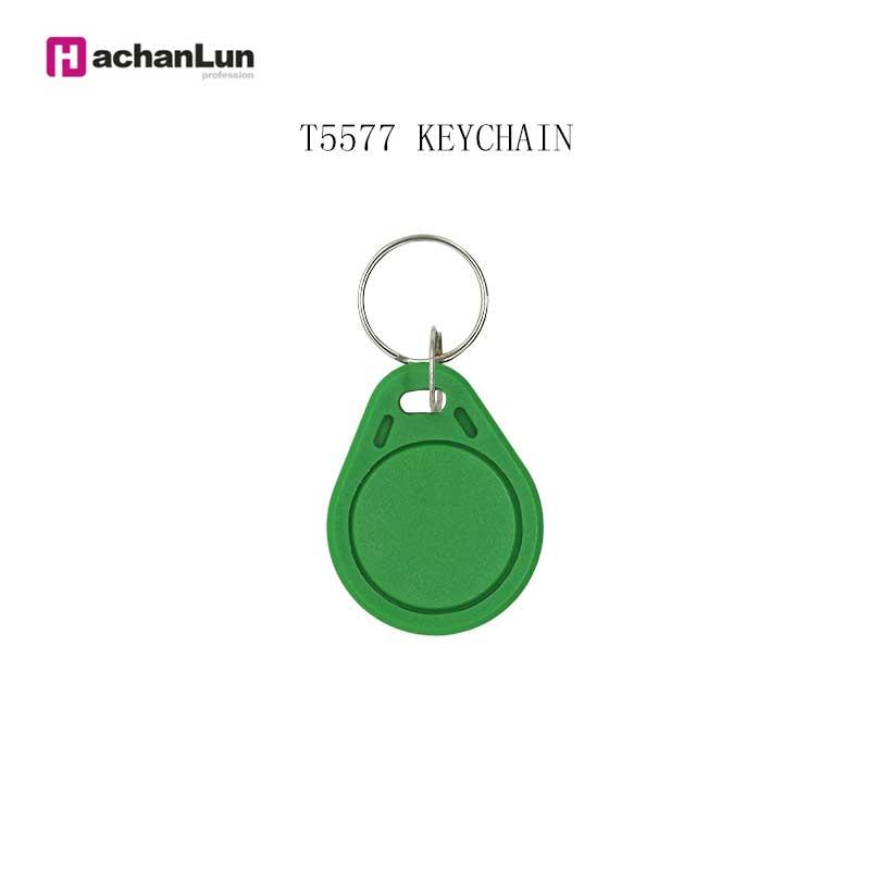 10/50/100 Color Random 125KHZ  RFID Tag Access Control Card Sticker Access Card EM4305 T5577 Replicator Repeated Write Keychain