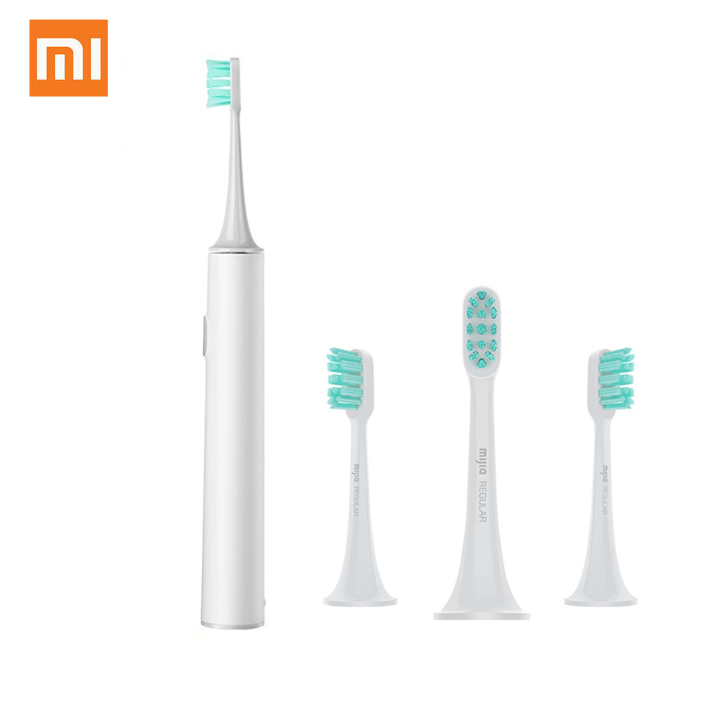 Xiaomi Smart Sonic Electric Toothbrush T300 Mijia Tooth Brush Wireless Charge IPX7 Waterproof Adult Smart Ultrasonic Toothbrushe