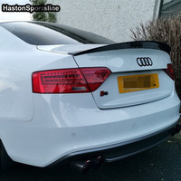 A5 S5 HK Style Carbon Fiber Rear Spoiler Wing for Audi S5 2Door 2008~2015
