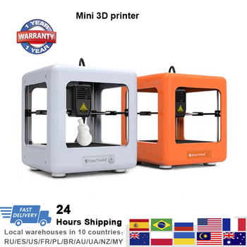 NANO Mini 3D Printer DIY Toy Modle Printing Education Impresora 3d Kids Gift Free Shipping from Local Warehouses FDM 3D Printer free shipping 3dsway 3d printer board lerdge x motherboard arm 32 bit controller with 3 5 tft for education diy 3d printer
