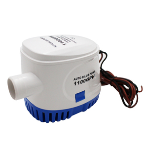 Image 4 - Automatic Boat Bilge Pump DC 12V 24V 600GPH 750GPH 1100GPH Submersible Electric Water Pump Small Mini For Boat