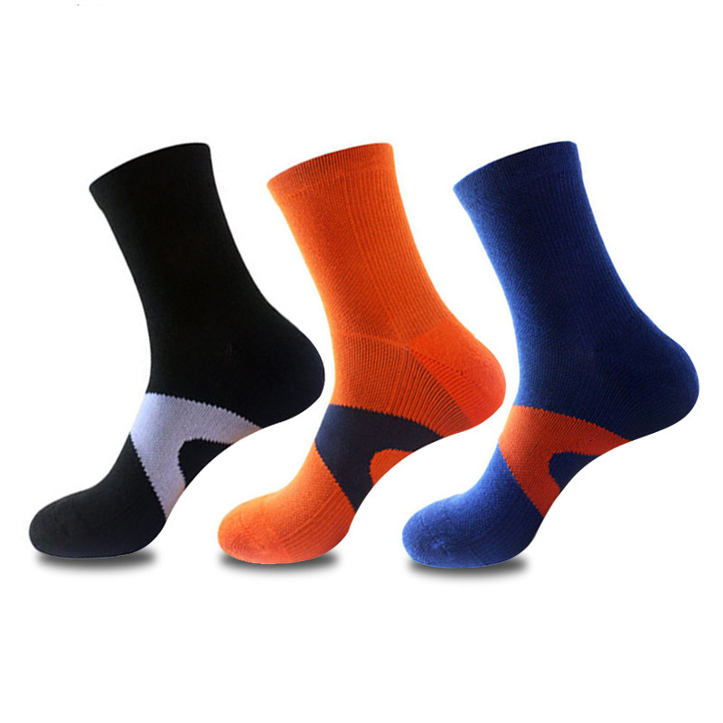 Top Quality Thermal Cycling Socks Professional Sport Socks Breathable Bicycle Socks Outdoor Basketball Socks 2019 New