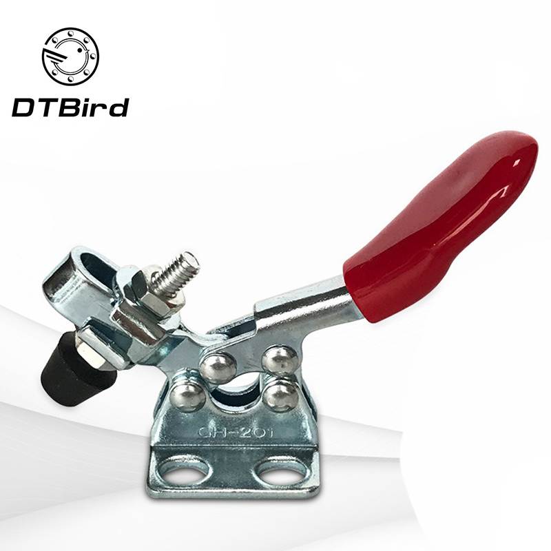 1pcs Fast Locking Lever Fastener Hand Tool Universal Quick Clip Vertical Fixture Horizontal Clamp Hand Tool High Quality