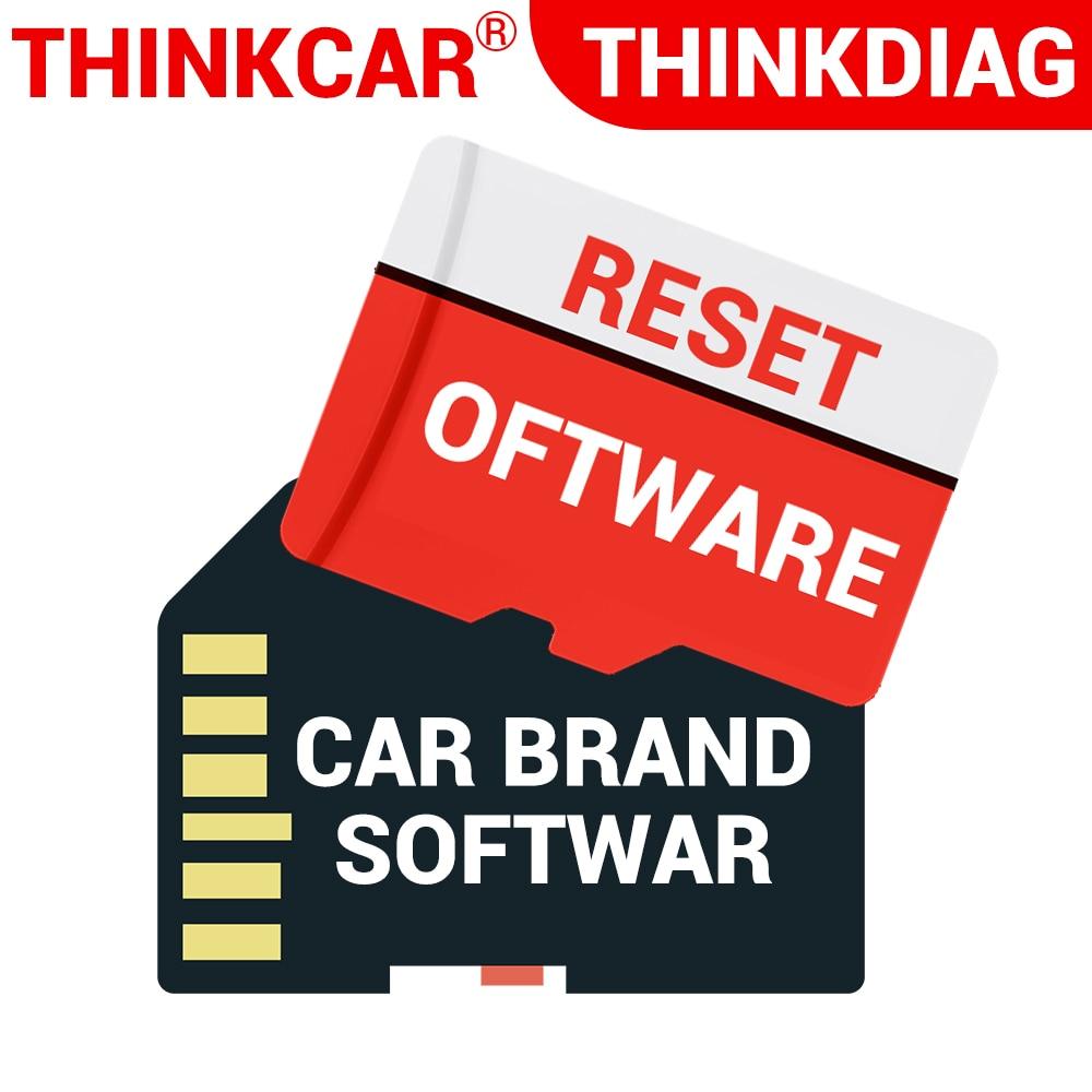 THINKCAR Thinkdiag, все программное обеспечение, 1 или 2 года работы, от производителя автомобилей, сброс программного обеспечения, Программирование ...