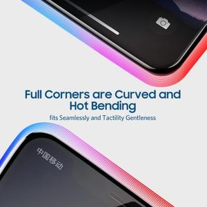 Image 3 - Benks VPRO 0.3mm מזג זכוכית עבור IPhone XS 5.8 XS מקסימום 6.5 XR מסך מגיני אנטי כחול ray זכוכית מלא כיסוי קדמי סרט