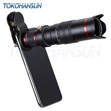 Tokohansun Ottica Obiettivo Della Fotocamera Del Telefono 22X Telescopio Teleobiettivo Lente Monoculare per Il Iphone X 7 8 Più Xiaomi HTC Altri Smartphone 22X