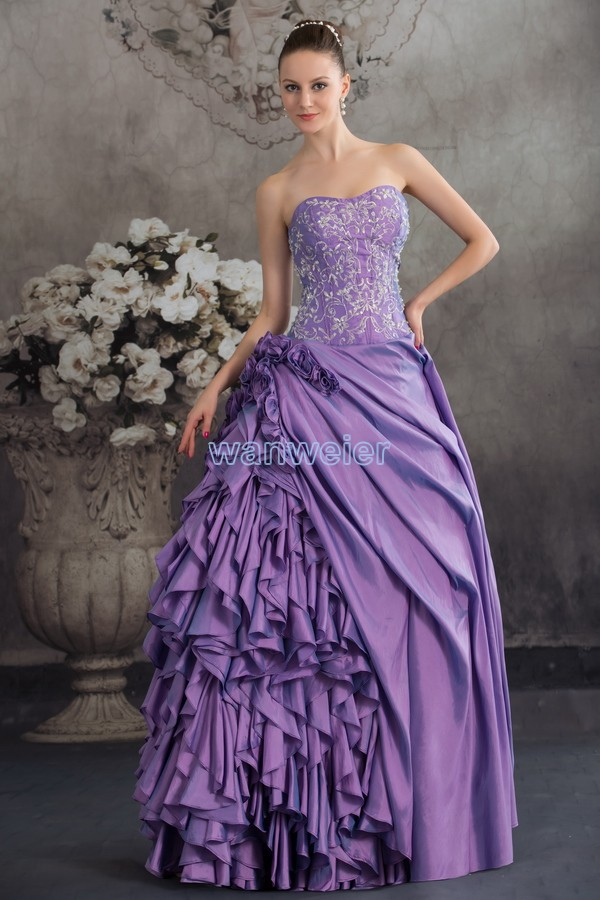 Free Shipping 2018 New Fantasias Handmade Custom Size Bride Cinderella Guipure Embroidery Lace Trim Quinceanera Bridesmaid Dress