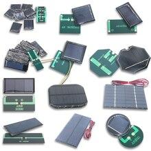 4 в 5,5 В 5 в 6 в 7 в 10 в 12 В моно/поликристаллическая солнечная панель, модуль аккумулятора, эпоксидная плата, ПЭТ, плата для выработки электроэне...