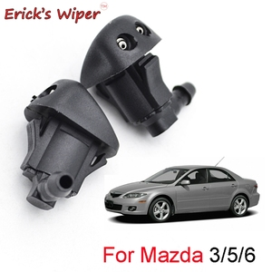 Erick es Limpiaparabrisas 2 uds frente limpiaparabrisas boquilla de chorro limpiaparabrisas para Mazda 3 MK1 2003 - 2009 5 MK2 2006 - 2010 6 MK1 2002 - 2008