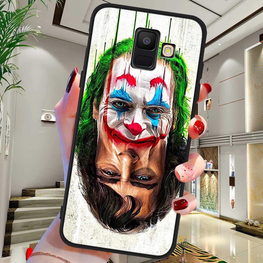 2019 yeni gelenler DC Joker Samsung Galaxy A9 A8 A7 A6 A5 A3 J3 J4 J5 J6 J8 artı 2017 2018 M30 A40S A10 A20E telefon kılıfı kapak