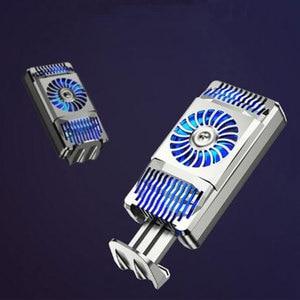Image 3 - Gerilebilir cep telefonu soğutucu yarıiletken radyatör soğutma fanı standı soğutma sıcaklık tutucu dilsiz iPhone Huawei için