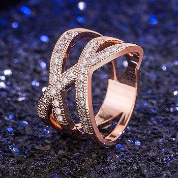 14K Rose Gold Jewelry White 1carat Diamond Ring for Women Natural FL Diamond Gemstone Bizuteria Anillos De 14K Gold Wedding Ring