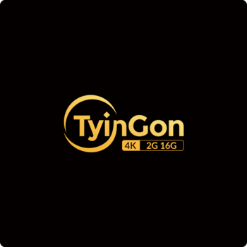 Sp TyinGon Android TV box 4K 2G 16G player de mídia