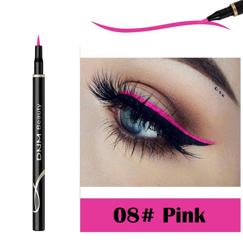 DNM Matte Eyeliner Cat Eye Makeup Long-lasting Waterproof Sweat-proof Quick Dry Not Blooming Liquid Eyeliner 12 Colors TSLM2 1