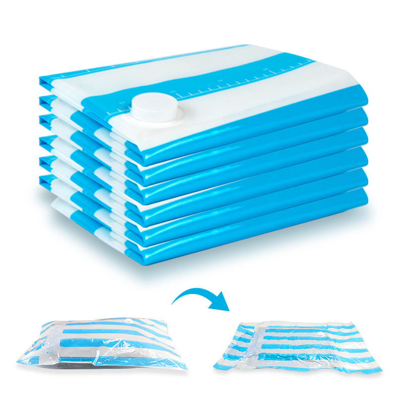 Vacuum Storage Bag For Packing Clothes Space Saved Seal Compression Closet Organizer Recycle Vacuum Sealer Saver