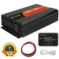 Renoster 2000w wireless invertor pure sine wave power inverter 12V 220V Peak 3000w outdoor home school frequency inverter car