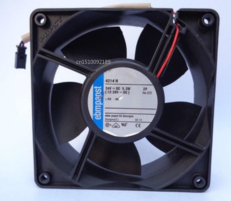 Free Shipping Original 4214H 24VDC 5.3W 120 * 120 * 38mm Aluminum Frame Heat Fan