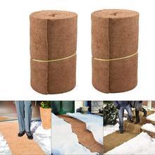 Коко рулон бумаги для покрытия корзина подвесной коврик сад цветочный горшок для растений корзина кокосовое волокно D6