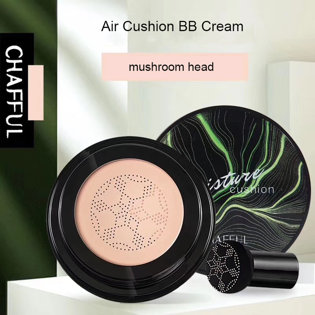 Mushroom Head Air Cushion Creative CC Cream Moisturizing Foundation Breathable Natural Whitening Makeup BB Cream Cosmetics 4