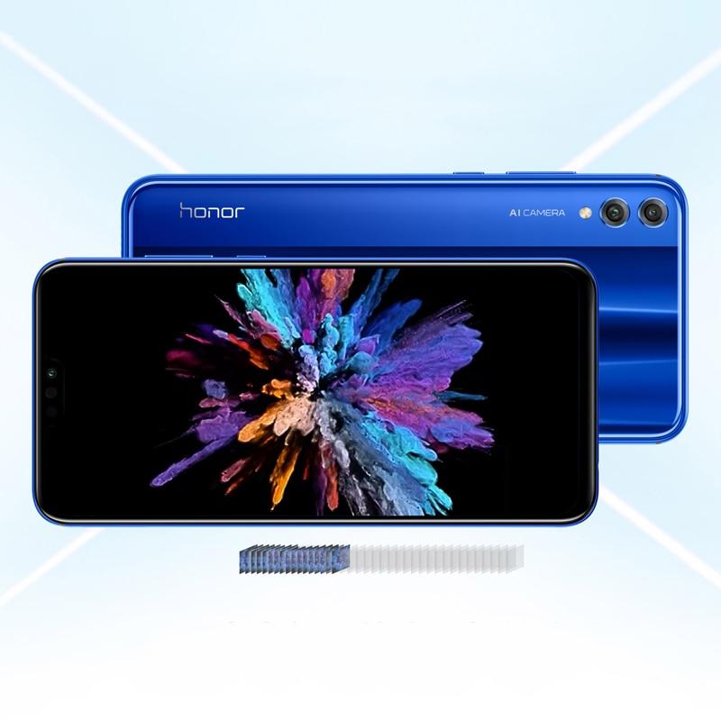 Google Spielen Ehre 8X 8 X Smartphone Globale Rom 4 GRAMM 64G/128G Kirin 710 Octa Core 6.5 ''20MP Dual Hinten Cam Handy Android