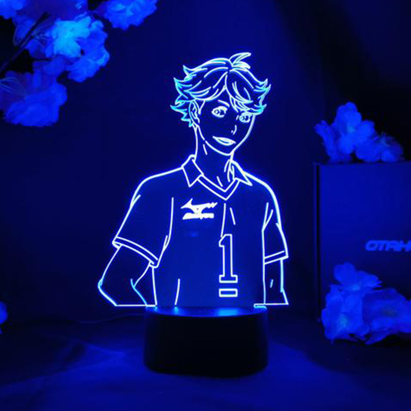 Haikyuu ToRU OIKAWA Figure Anime Led Night Lights 3D Anime Lamp Haikyuu Led Light Table Lamp For Childrend Home Decor Kids Gifts LED Night Lights  - AliExpress