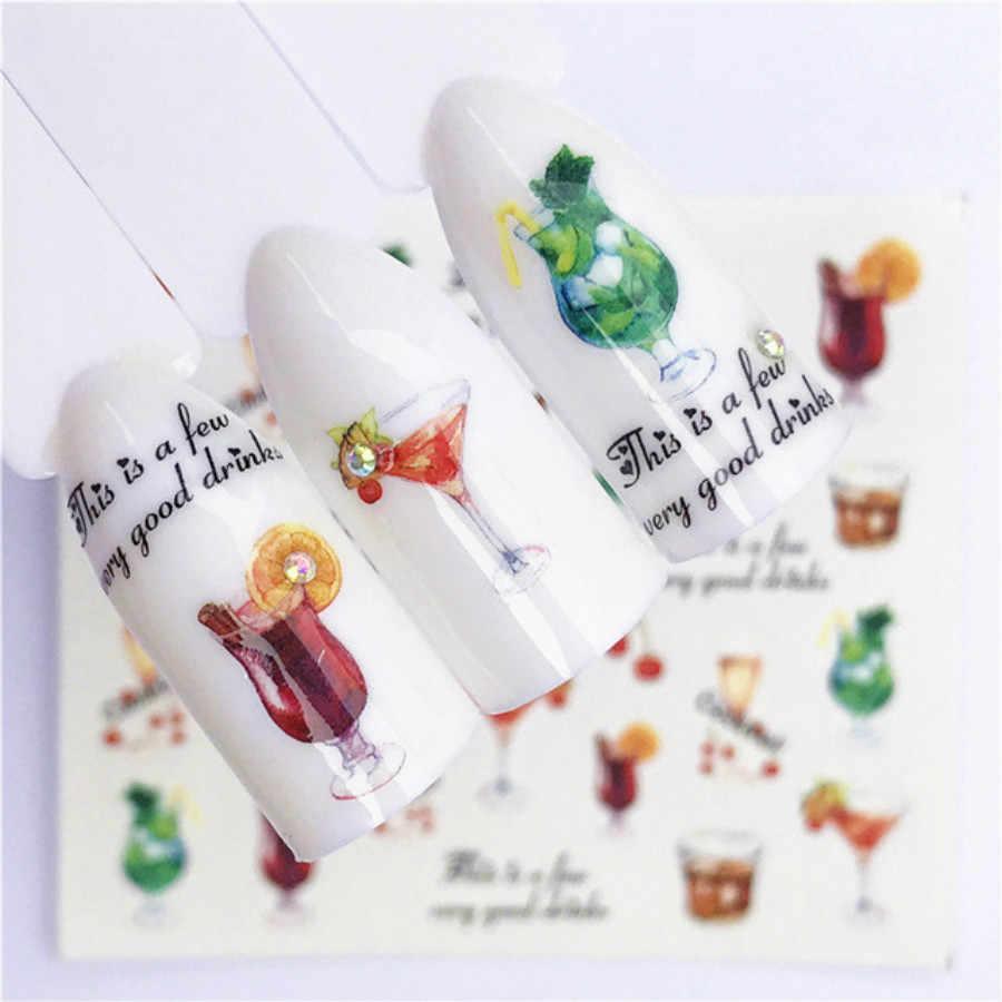 1Pcs แฟชั่นที่มีสีสันดอกไม้เจลเล็บเล็บกึ่งถาวร UV LED Gel Varnish Soak Off เล็บแฟชั่น charm ผู้หญิง