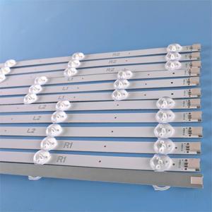 Image 2 - (Nouveau Kit dorigine) 12 pièces LED bande de rétro éclairage pour LG TV 47LA620S 6916L 1259A 6916L 1260A 6916L 1261A 6916L 1262A LC470DUE