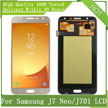"""Per SAMSUNG GALAXY NUOVO 5.5 """"SUPER AMOLED J7 Neo J701 J701F J701M Display LCD Touch Screen Digitizer Assembly Parts + Service Pack"""