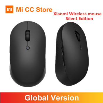 Orignial Xiaomi Mi Wireless Mouse Silent Editon Bluetooth USB Dual Mode Connection Protable Mini Wireless Mouse Global Version