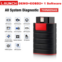Launch X431 Thinkdiag OBD2 Volledige System Power dan Easydiag Diagnostic Tool Met 3 Gratis Software