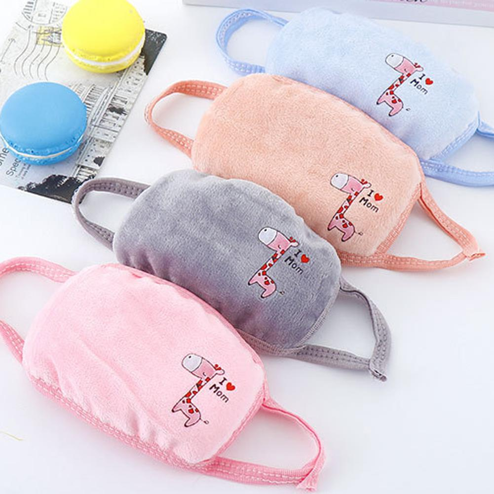 Child Face Mask With Masks Filter Pads For Men Women Kids PM2.5 Germ Droplets Smoke Pollution Earloop Washable Mask