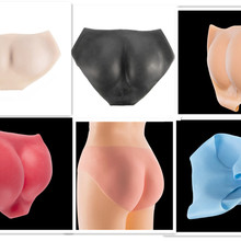 New Silicone Push Up Hip Pant Crossdressing Pants Sexy Shemale Protesis Body Padded Enhancer Shaper Fake Ass Underwear For Women