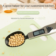 Household Portable Measuring Spoon Kitchen Electronic Scale Mini Medicinal Material Scale Baking Scale Jewelry Scale
