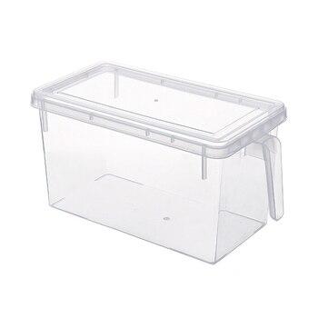 キッチン食品保存容器ケース冷蔵庫の野菜室ハンドル多機能 PI669