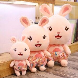 Забавный мягкий песочный пляжный кролик, плюшевые игрушки, милая Кукла Кролик, подарок на день рождения для девочки или подруги, летний Забавный подарок кролика, 25/45/55 см