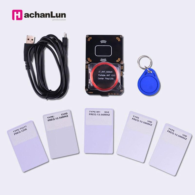 New Proxmark3 Develop Suit Kits 3.0 Proxmark NFC RFID Reader Writer For Rfid Nfc Card Copier Clone Crack 2 USB Port 512K