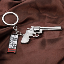 Red Dead Redemption 2 Keychain Rockstar Game Pendant Metal Key Ring Holder Men Car Women Bag Chain Chaveiro Jewelry
